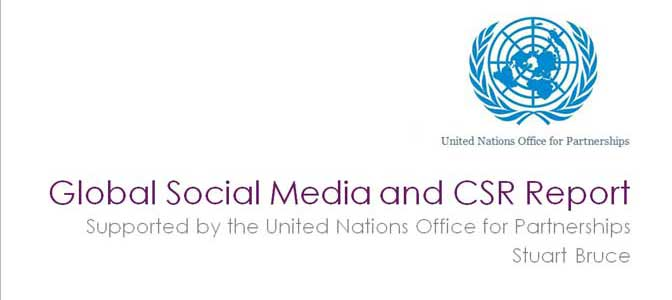 UN supported international research into how FT Global 500 use social media for CSR