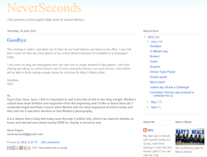 NeverSeconds blog
