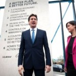 Photo of Ed Miliband unveiling #edstone