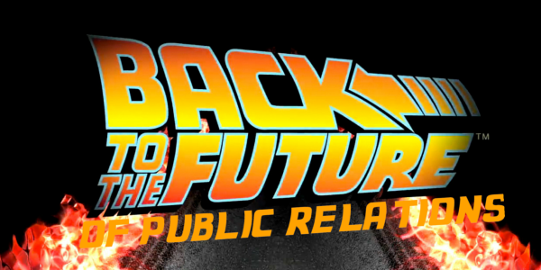 Back to the Future of Public Relations slide