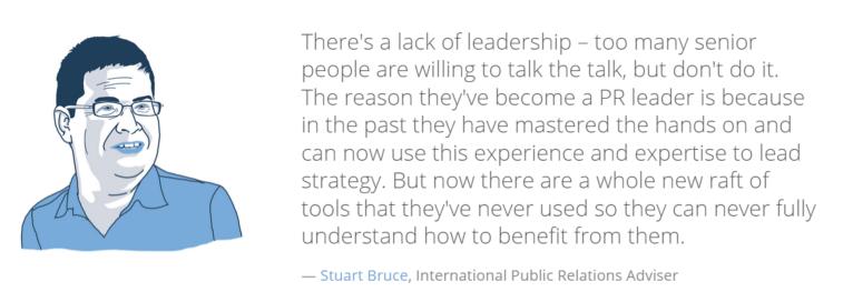Stuart Bruce on digital tools for PR