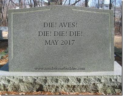 Die! AVEs! Die! Die! Die!