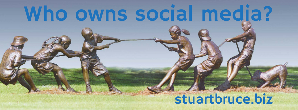 Who owns social media tug of war photo