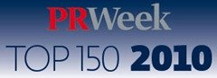 PRWeek Top 150 PR Consultancies