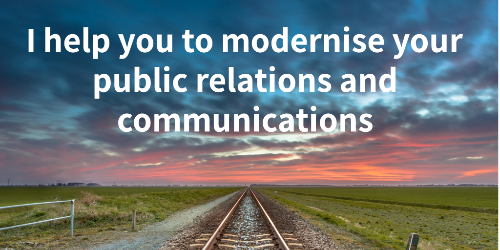 I help you modernise your public relations and communications photo