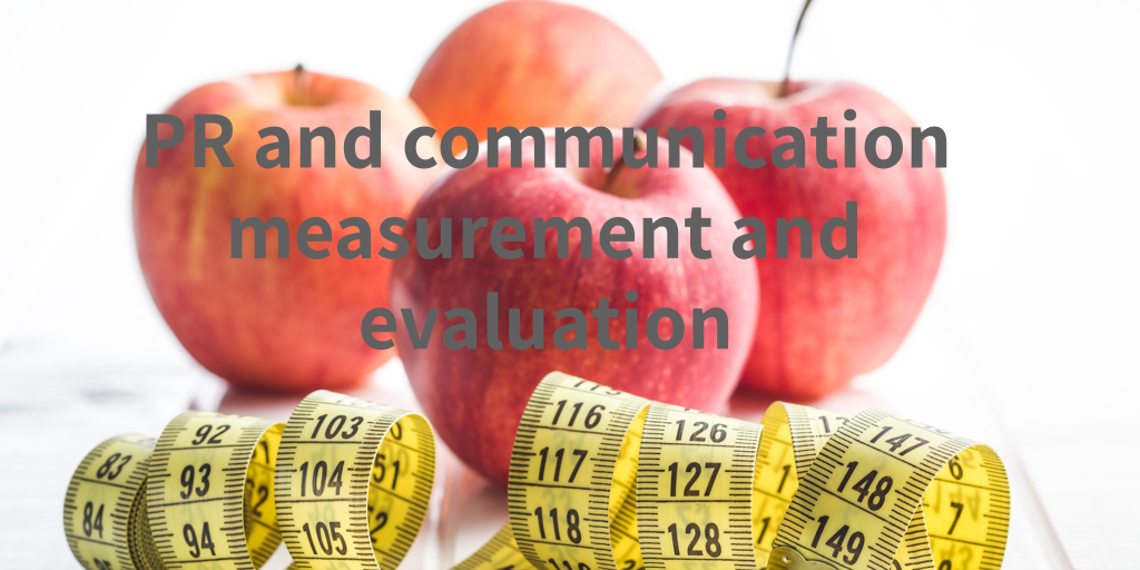 PR and communication measurement and evaluation