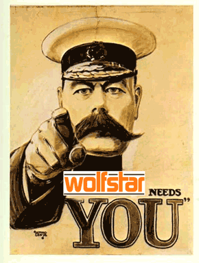 Wolfstar needs you